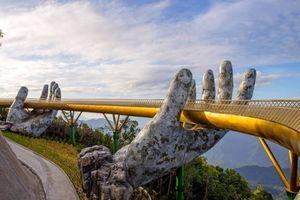 The Guardian: Cầu Vàng của Việt Nam là một trong những cây cầu nổi bật nhất thế giới