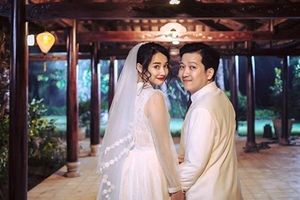 Chuyện showbiz: Nhã Phương - Trường Giang kết hôn vào tháng 8 âm lịch?