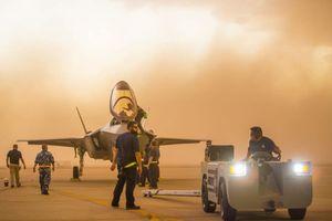 Cát - kẻ thù nguy hiểm nhất đối với siêu tiêm kích tàng hình F-35
