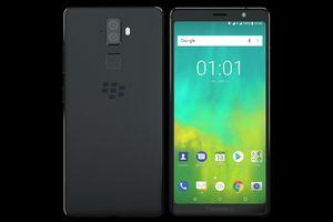 BlackBerry tung 2 smartphone thuần cảm ứng pin 4.000 mAh