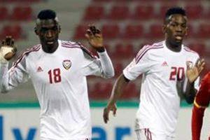 Chia bảng môn bóng đá nam ASIAD 18: U23 UAE thế chỗ U23 Iraq