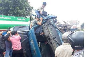 Tai nạn liên hoàn, 5 người bị thương