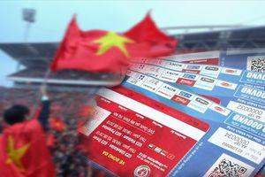 Vé xem Giải giao hữu U23 Việt Nam gắn chíp bảo mật hiện đại như thế nào?