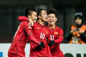 Tứ hùng U23 Quốc tế 2018: Công Phượng đá cặp với Anh Đức, Lâm 'Tây' bắt chính
