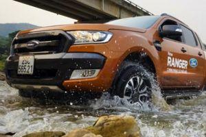 Hơn 2.500 xe bán tải Ford Ranger triệu hồi tại Việt Nam