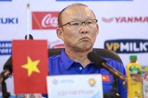 HLV Park Hang-seo: Cơ hội ra sân được chia đều cho 30 cầu thủ