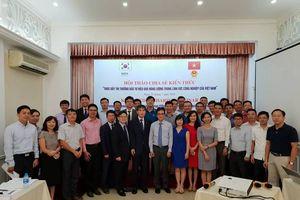 Chia sẻ kiến thức thúc đẩy thị trường đầu tư hiệu quả năng lượng trong lĩnh vực công nghiệp tại Việt Nam