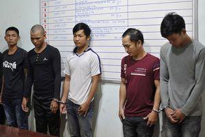 Nhóm 'bảo kê' sầu riêng bị công an bắt giữ