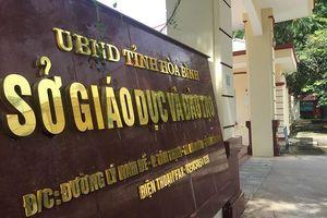 Phó Chủ tịch tỉnh Hòa Bình nói gì về nghi án gian lận điểm thi