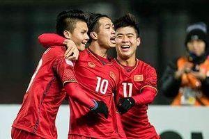 Olympic Việt Nam tiếp Olympic Palestine bằng đội hình nào?