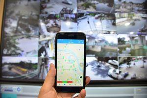 Cận cảnh hệ thống camera theo dõi ngập úng khắp Hà Nội