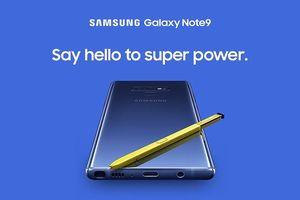 Galaxy Note 9 bất ngờ lộ diện hình ảnh và video clip chính thức từ Samsung