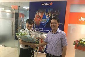 Jetstar Pacific có nữ cơ trưởng người Việt Nam đầu tiên