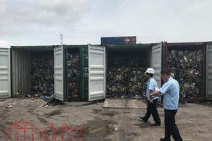 Buộc tái xuất 5 container rác thải 'đội lốt' phế liệu