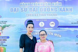 Á hậu Trịnh Kim Chi đồng hành cùng Hành trình tìm kiếm 'Đại Sứ Đại Dương Xanh'
