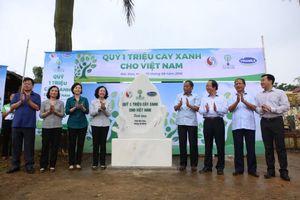 Vinamilk trồng 100.000 cây xanh tại khu di tích lịch sử Bắc Kạn