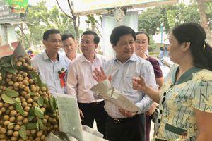 Khai mạc 'Tuần lễ nhãn và nông sản an toàn tỉnh Sơn La năm 2018' tại Hà Nội