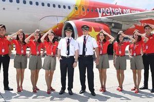 Vietjet tiếp tục tăng trưởng doanh thu và chất lượng phục vụ
