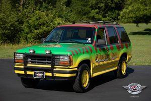Phiên bản làm lại của Ford Explorer từng xuất hiện ở 'Jurassic Park'