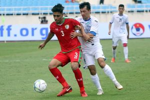 Uzbekistan và Oman bất phân thắng bại ở giải tứ hùng