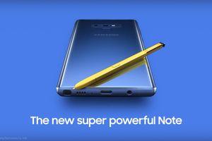 Galaxy Note9 lộ diện hoàn toàn trước ngày ra mắt