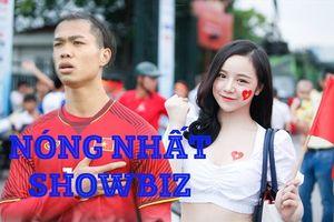 Nóng nhất showbiz: Nữ CĐV nổi không kém Công Phượng trong trận U23 Việt Nam ra quân