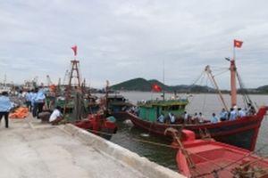 Tàu cá ngang nhiên neo, đậu tại cảng quốc tế Cửa Lò