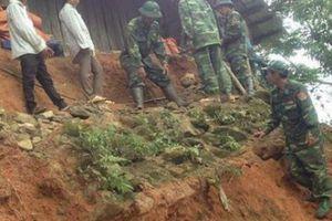 Lai Châu: Chưa tìm thấy các nạn nhân vụ sạt lở đất ở Vàng Ma Chải