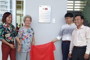 Bàn giao Trung tâm học tập cộng đồng thân thiện với trẻ