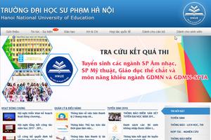 Trang web các trường đại học phải thông tin công khai về cam kết chất lượng giáo dục