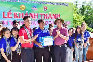 Bí thư Tỉnh ủy tỉnh Phú Yên thăm và động viên chiến sĩ Mùa hè xanh