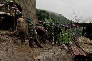Sạt lở đất ở Lai Châu, 6 người chết, 5 người mất tích