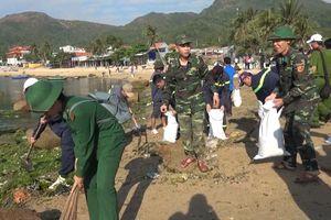 Bình Định: Hơn 1.000 đoàn viên, thanh niên ra quân làm sạch biển