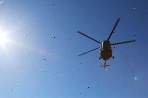Trực thăng rơi ở Nga, 18 người thiệt mạng