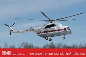 Rơi trực thăng ở Nga, toàn bộ 17 người trên máy bay thiệt mạng