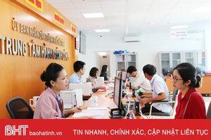 Thành phố Hà Tĩnh tiên phong chấm điểm... 'sếp'
