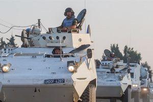 Lực lượng gìn giữ hòa bình Liên hợp quốc trở lại Cao nguyên Golan