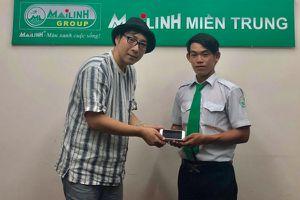Đà Nẵng: Lái xe Mai Linh trả lại điện thoại cho du khách nước ngoài bỏ quên