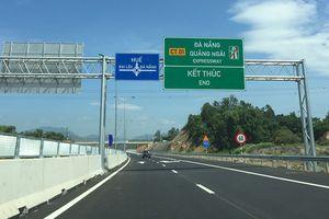 VEC cam kết thông xe cao tốc Đà Nẵng-Quảng Ngãi vào 2/9