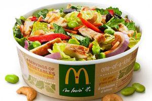 Gần 400 người Mỹ bị nhiễm khuẩn đường ruột do ăn salad của hãng McDonald's