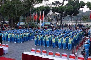 Tổ chức Giải bóng đá dành cho công nhân vệ sinh môi trường