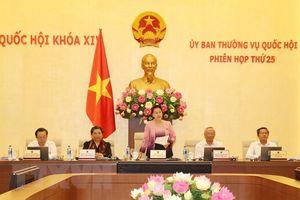 Phiên họp thứ 26 Ủy ban Thường vụ Quốc hội diễn ra từ ngày 08 đến 13-8