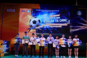 Đại học Công nghệ Đồng Nai giật cúp vô địch giải 'Bóng đá Tài chính'