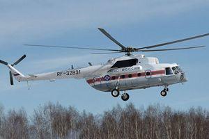 Rơi trực thăng ở Nga, 17 người thiệt mạng