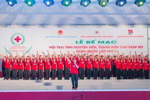 Ra mắt Mạng lưới tình nguyện viên chữ thập đỏ Việt Nam