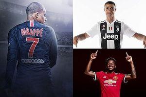 15 bom tấn đắt giá nhất chuyển nhượng Hè 2018: Mbappe qua mặt Ronaldo