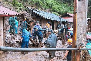 Lai Châu nỗ lực khắc phục mưa lũ, tìm kiếm người mất tích
