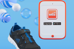 Biti's công bố dự án giày thể thao thông minh cho trẻ em