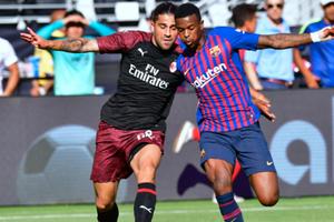 Barca bất ngờ thua đau Milan 0 - 1 ở phút bù giờ