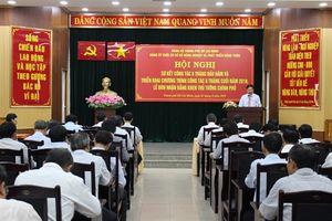 Hội nghị sơ kết công tác xây dựng Đảng 6 tháng đầu năm